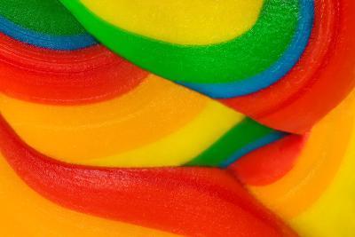 Texture Of Lollipop Macro-Dalibor Sevaljevic-Art Print