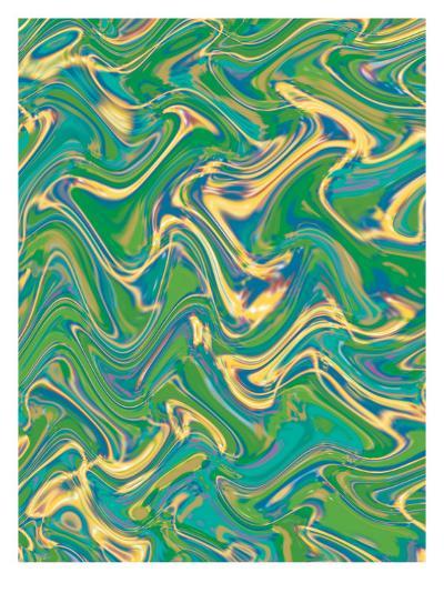 Texture, Wavy Water--Art Print
