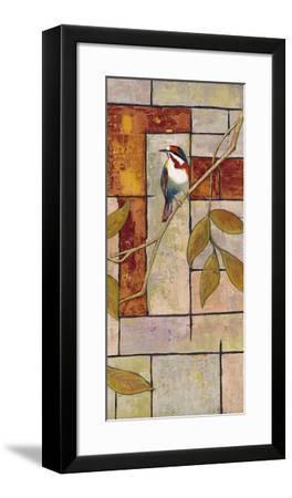 Textured Bird Panel II-Mehmet Altug-Framed Art Print
