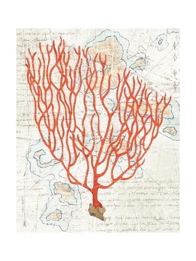 Textured Coral IV-Avery Tillmon-Art Print