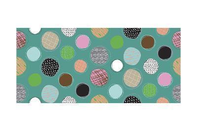 Textured Dots-Joanne Paynter Design-Giclee Print