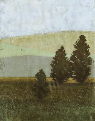 Textured Evergreen II--Art Print
