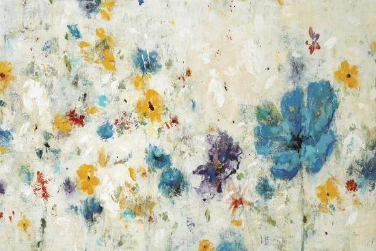 Textured Flora-Lisa Ridgers-Art Print