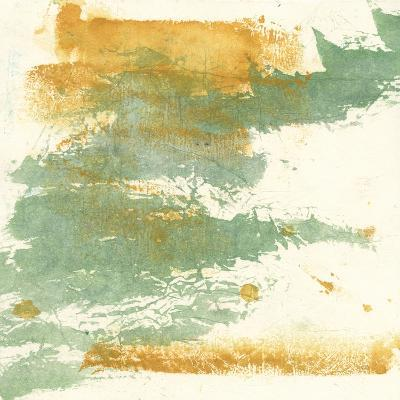 Textured Gold I-Chris Paschke-Art Print