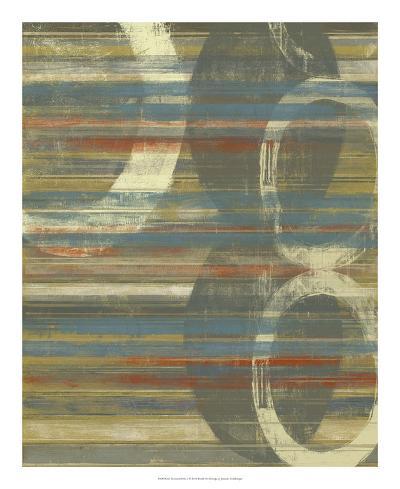 Textured Orbs I-Jennifer Goldberger-Art Print