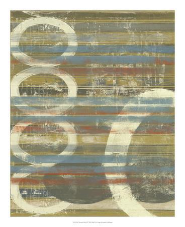 Textured Orbs II-Jennifer Goldberger-Art Print