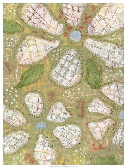 Textured Petals II-Karen Deans-Giclee Print