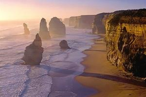 Sunset at the Twelve Apostles by TGR Photography