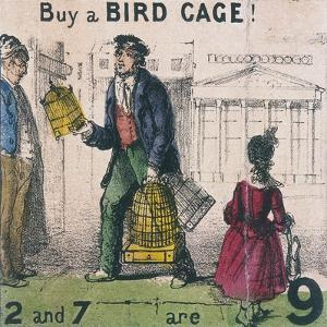 Buy a Bird Cage!, Cries of London, C1840 by TH Jones