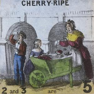 Cherry-Ripe, Cries of London, C1840 by TH Jones