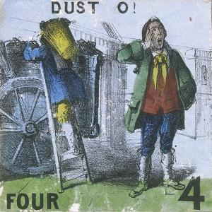 Dust O!, Cries of London, C1840 by TH Jones