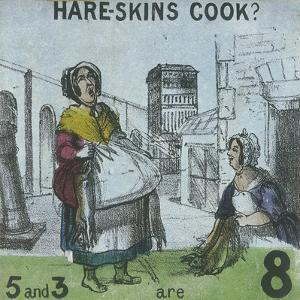 Hare-Skins Cook?, Cries of London, C1840 by TH Jones