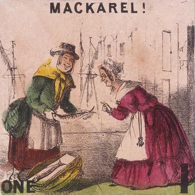 Mackarel!, Cries of London, C1840