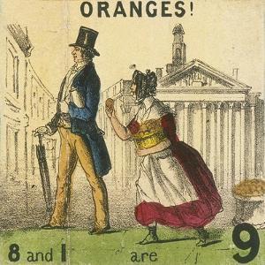 Oranges!, Cries of London, C1840 by TH Jones