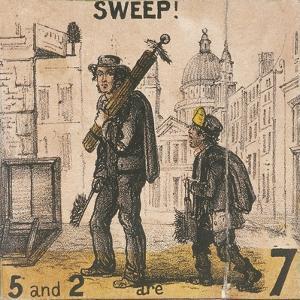 Sweep!, Cries of London, C1840 by TH Jones