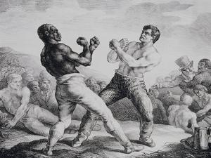 Boxers, 1818 by Th?odore G?ricault