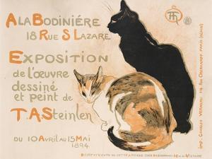 A la Bodiniere, 1894 by Th?ophile Alexandre Steinlen