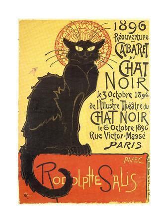 Cabaret Du Chat Noir-Black Cat Cabaret