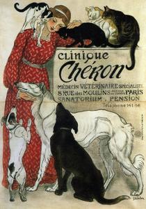 Clinique Chéron, 1905 by Th?ophile Alexandre Steinlen