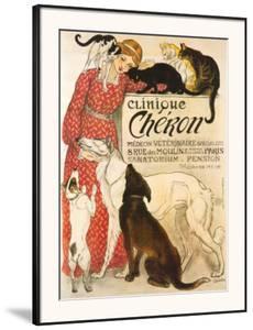 Clinique Cheron, c.1905 by Th?ophile Alexandre Steinlen