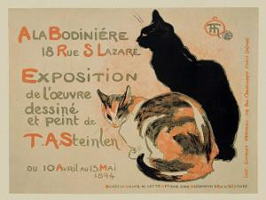 Exposition at Bodiniere by Th?ophile Alexandre Steinlen