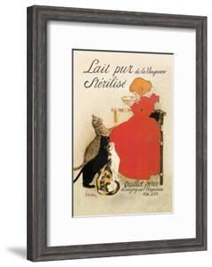 Lait Pur de la Vingeanne Sterilise by Th?ophile Alexandre Steinlen