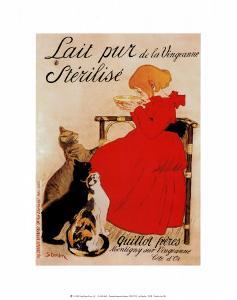 Lait Sterilise by Th?ophile Alexandre Steinlen