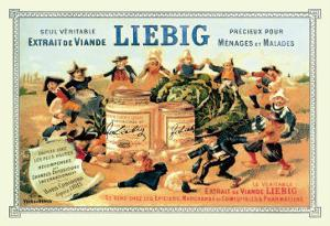 Liebig, Meat Extract, c.1889 by Th?ophile Alexandre Steinlen