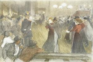 Local Dance, 1897-1899 by Th?ophile Alexandre Steinlen