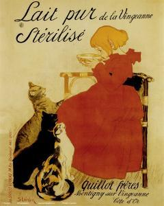 Nestle's Milk by Th?ophile Alexandre Steinlen