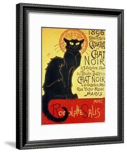 Reopening of the Chat Noir Cabaret, 1896 by Th?ophile Alexandre Steinlen