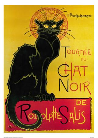 Tournée du Chat Noir, c.1896 by Th?ophile Alexandre Steinlen