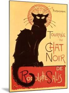 Tournée du Chat Noir, c.1896 by Th?ophile Alexandre Steinlen