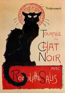 Tournee Du Chat Noir by Th?ophile Alexandre Steinlen