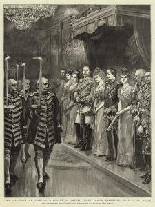 Tha Marriage of Princess Margaret of Prussia with Prince Frederick Charles of Hesse