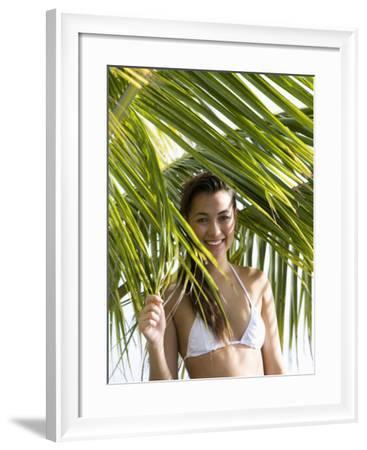 Thai-Caucasian Woman, Phuket, Thailand, Southeast Asia-Angelo Cavalli-Framed Photographic Print