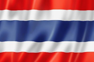Thai Flag-daboost-Art Print