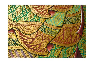 Thai Painting Art-sritangphoto-Art Print
