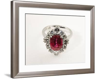 Thai Ruby Ring--Framed Photographic Print