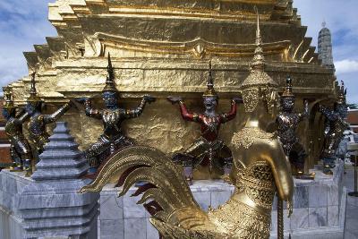 Thailand, Bangkok, Royal Palace, Architectural Detail--Giclee Print