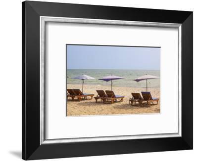 Thailand, Hua Hin. Beach resort town in northern Thailand.-Tom Haseltine-Framed Photographic Print