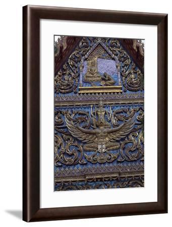 Thailand, Kanchanaburi, Architectural Decoration--Framed Giclee Print