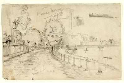 Thames at Barnes, 1886-John Atkinson Grimshaw-Giclee Print
