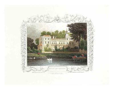 Thames River - 1827 III--Art Print