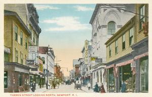 Thames Street, Newport, Rhode Island