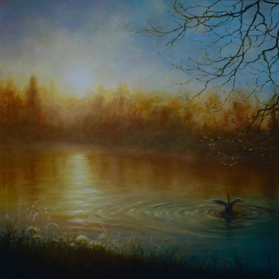 Thames Sunrise, 2004-Lee Campbell-Giclee Print