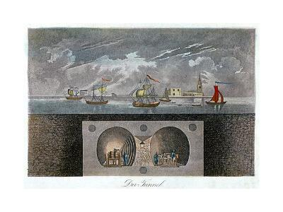 Thames Tunnel, C1830--Giclee Print