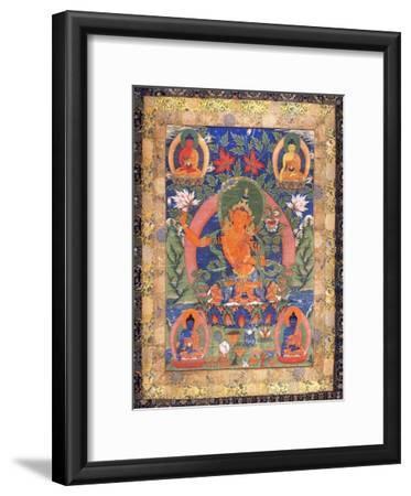 Thangka of Arapachana Manjushri