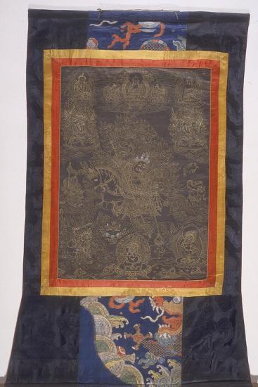 Thangka of Dharmapala--Giclee Print