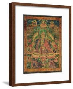 Thangka of Padmasambhava and His 'Eight Manifestations', 19th-20th Century
